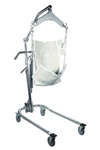 Hydraulic Deluxe Chrome-Plated Patient Lift