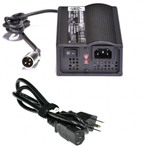 3.5 A charger with XLR plug