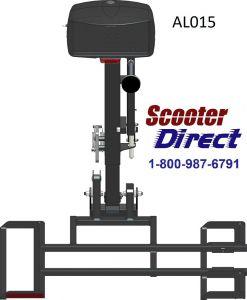 AL015 Micro 4 wheel lift