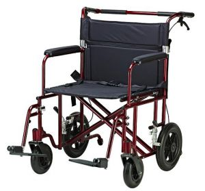 Bariatric Aluminum Transport Chair