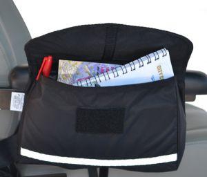 Standard Saddle Bag - Open