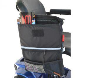 Extra Large Saddle Bag - Open