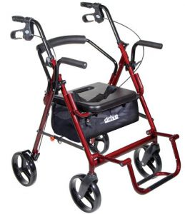 Duet Transport Chair Rollator