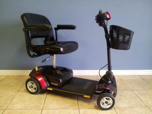 Pride Go Go Traveller Elite 4 wheel