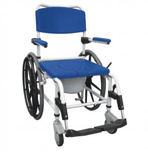 Aluminum Rehab Shower Commode Chair