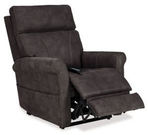 Pride Urbana VivaLift! Power Recliner in Gun Metal