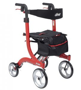 Nitro Rollator in Red