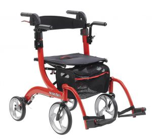 Nitro Duet Rollator as a Transport Chair