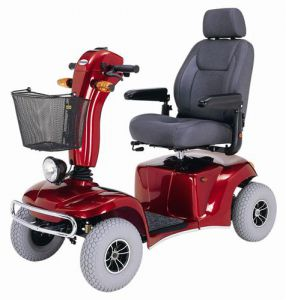 Pioneer 10 Bariatric Scooter