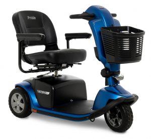 Pride Victory 10.2 3-Wheel in Blue