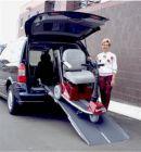 PVI Mounted Rear Door Van Ramp